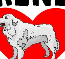 Great Pyrenees Mom Sticker