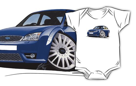 Ford Mondeo ST 220 Blue by Richard Yeomans