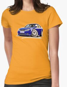 Ford Mondeo ST 220 Blue Womens Fitted T-Shirt