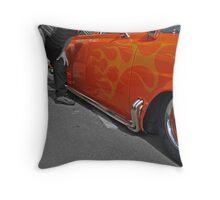 Flaming colouring Throw Pillow