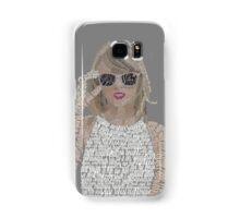Taylor Swift Typography Samsung Galaxy Case/Skin