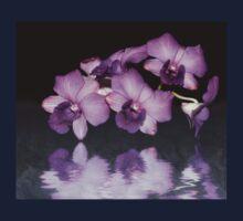 Purple Orchid Kids Tee