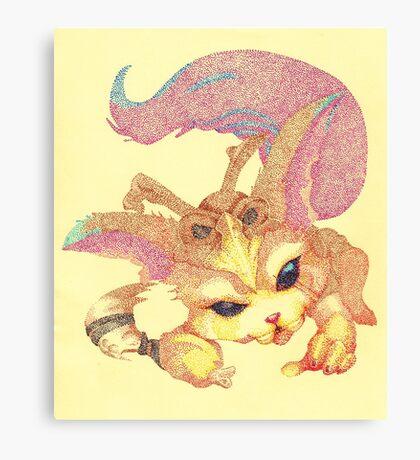 Pointillism - Gnar Canvas Print