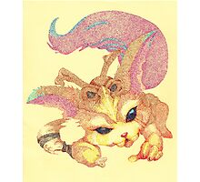 Pointillism - Gnar Photographic Print