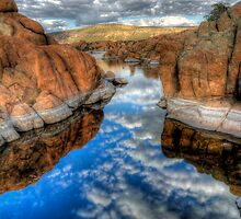 Between A Rock and a Cloud Space by Bob Larson