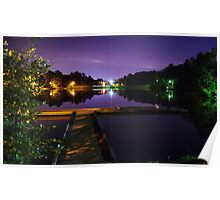Purple Water  Poster