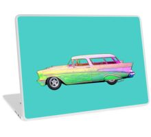 57 Chevy Nomad Wagon Tees, Pads, Blanky, Stuff! Laptop Skin