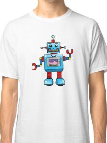 Fun toy robot cartoon Classic T-Shirt