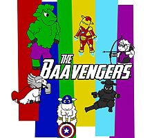 The Baavengers by mikaelaK
