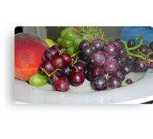 Fruit Platter Metal Print