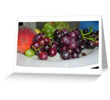 Fruit Platter Greeting Card
