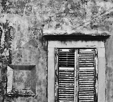 Dubrovnik window by DJBPhoto