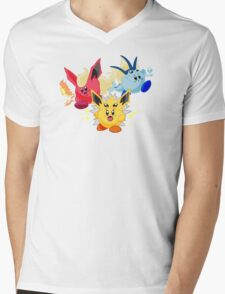 Kirbeelutions Mens V-Neck T-Shirt