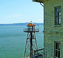 Alcatraz Guard Tower by Mike Pesseackey (crimsontideguy)