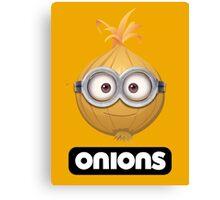 Onions - A Parody Canvas Print