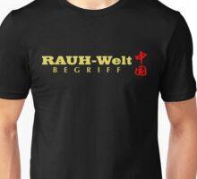 Rauh-Welt Begriff China Unisex T-Shirt