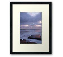 Ballyconnigar Strand at dawn Framed Print
