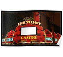 Fremont Casino - Las Vegas Poster