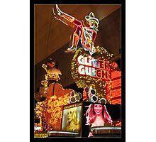 Glitter Gulch Casino - Las Vegas Photographic Print