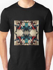 mosaic of bears in love Unisex T-Shirt