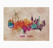 New York City skyline 2 Kids Tee