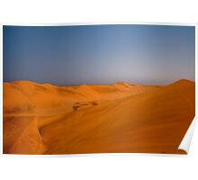 Sand dunes of the Namib Poster