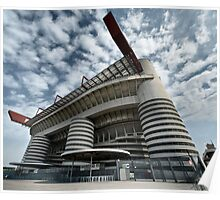 Milano Stadium - San Siro Poster
