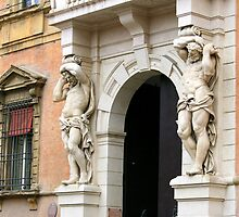 "The ""Giants"" of Strada Maggiore by Segalili"