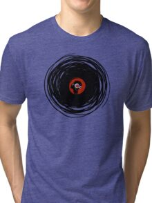 I'm spinning within with a vinyl record... Tri-blend T-Shirt
