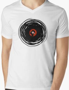 I'm spinning within with a vinyl record... Mens V-Neck T-Shirt