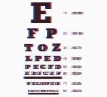 3D EyeChart Dioptrias by alzacuellos