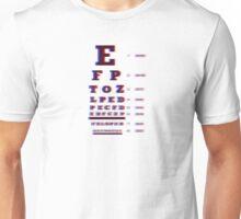 3D EyeChart Dioptrias Unisex T-Shirt