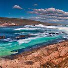 Moses Rock Panorama Wilyabrup Beach WA by Jonathan Stacey