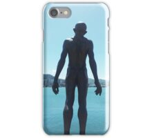 Wellington Waterfront Statue iPhone Case/Skin