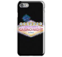 Casino Night Zone iPhone Case/Skin