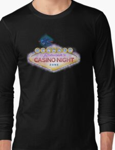 Casino Night Zone Long Sleeve T-Shirt