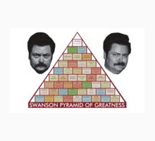 Swanson's Pyramid of Greatness Kids Clothes