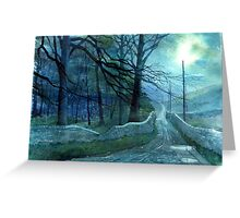 Road to Foxup Greeting Card