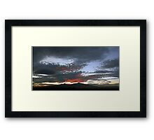 ©HCS 1st Sunset On May 14 IA Framed Print