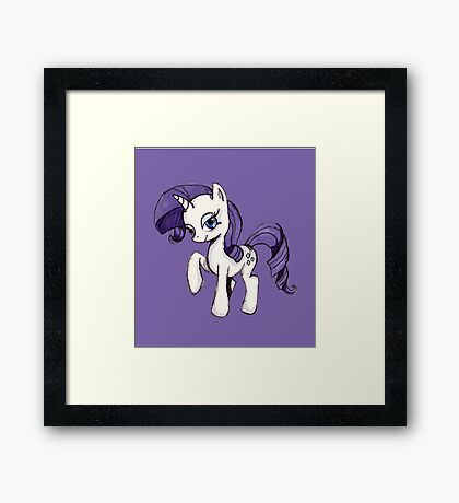 A Rarity To Come By. Framed Print