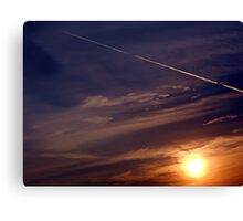 ©TSS The Sun Series L Sunrise Track IA Canvas Print