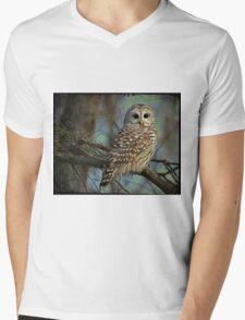 Woodland Goddess Mens V-Neck T-Shirt