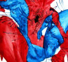 Spider-Man Watercolor Splash Sticker