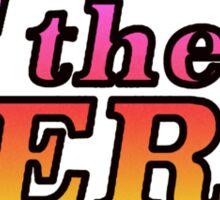 Feel the Bern 2016 - Rainbow Sticker