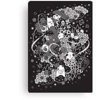 Pandamonium Canvas Print