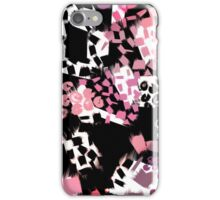 Art brush stripes and spots iPhone Case/Skin