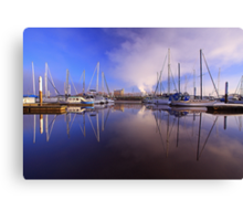 """Nautical Reflections"" Canvas Print"