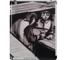 IN WINE CELLAR(C1981)(V2 - INK) iPad Case/Skin