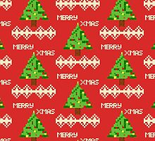 Xmas tree 8bits  by MrKinney