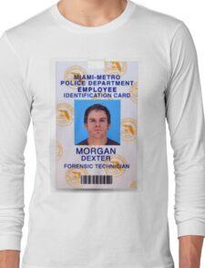 Morgan, Dexter Long Sleeve T-Shirt